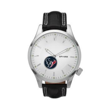 Sparo Watch - Men's Icon Houston Texans Leather