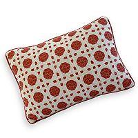 Always Home Folk Art Lattice Decorative Pillow