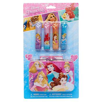 Disney Princess Rapunzel, Aurora & Ariel Girls Lip Gloss Set
