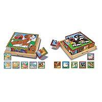 Melissa & Doug 2 pkCube Puzzles