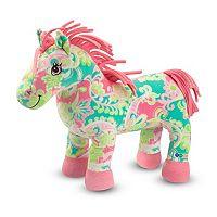Melissa & Doug Ashley Horse Plush Toy