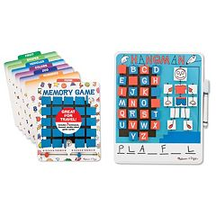 Melissa & Doug Flip To Win Game Bundle