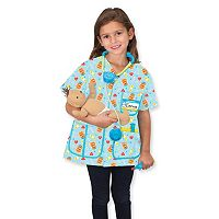 Melissa & Doug Pediatric Nurse Role Play Costume