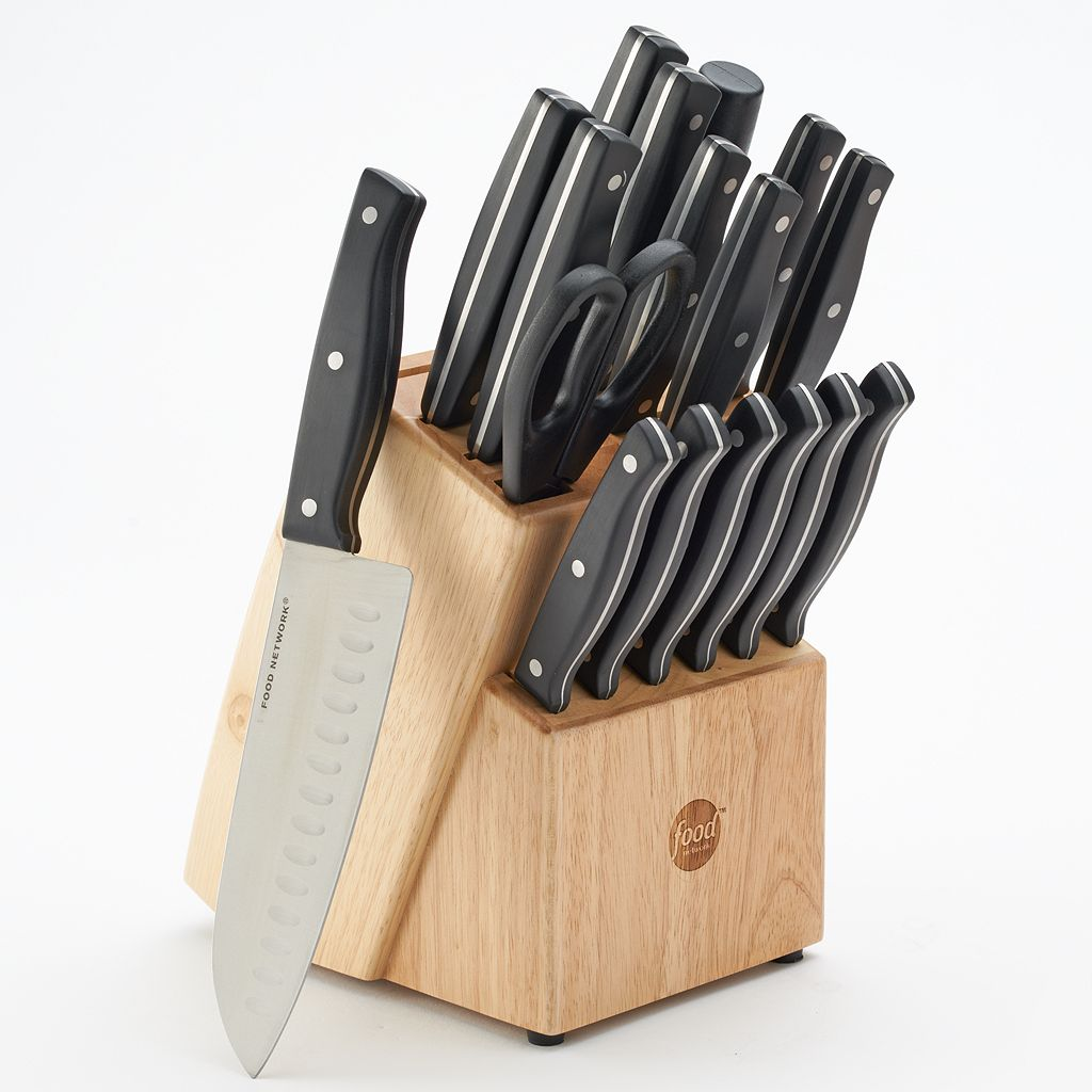 Food Network™ 18-pc. Triple-Riveted Cutlery Set
