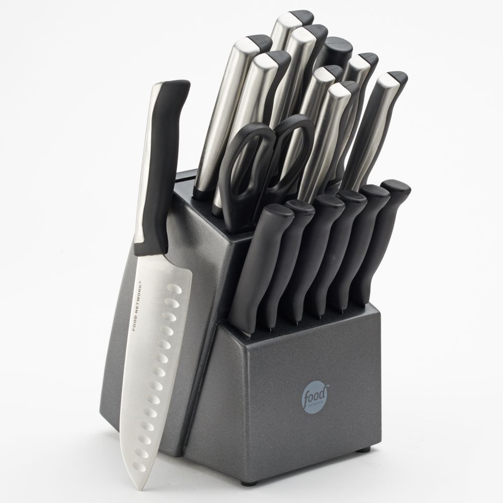 network 18 pc soft grip cutlery set