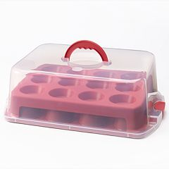 Food Network™ 2-Layer Cupcake & Muffin Carrier