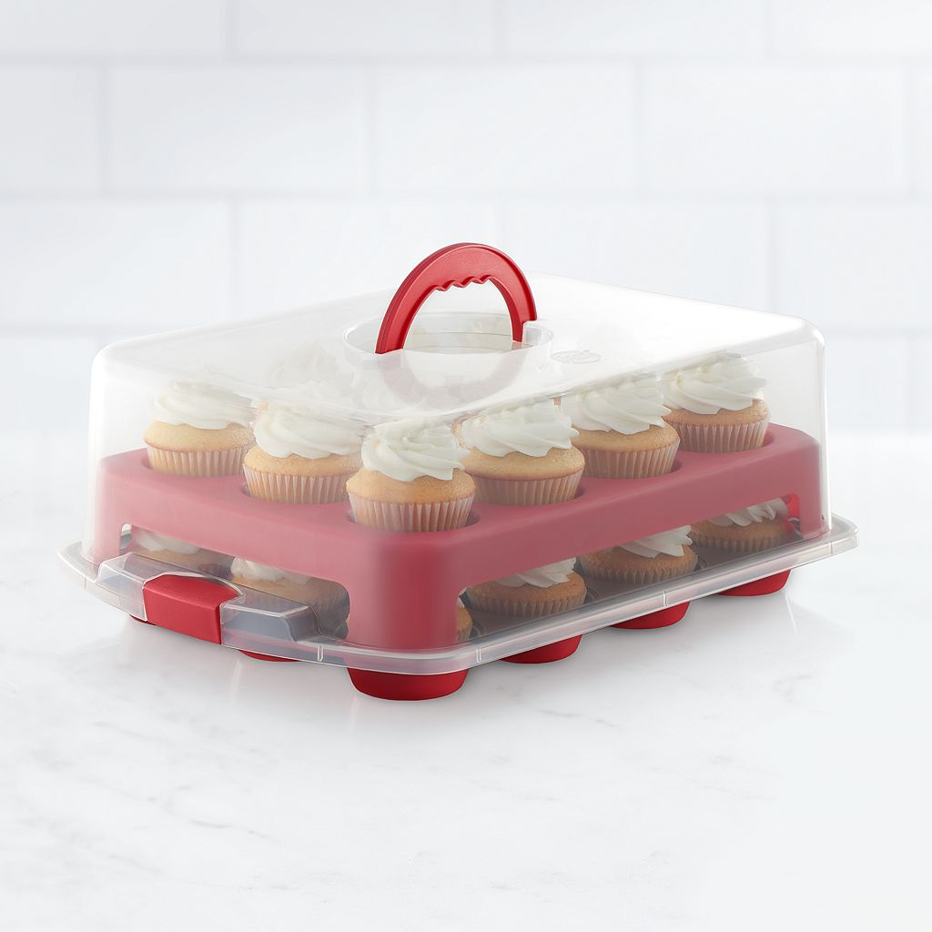 Food Network™ 2-Layer Cupcake and Muffin Carrier