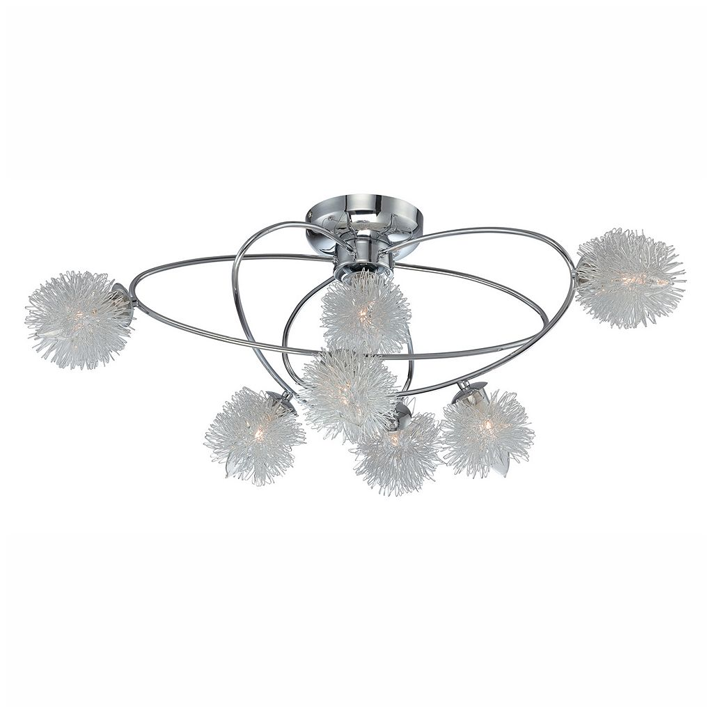 Lite Source Inc. Hallan Flush Mount Ceiling Light