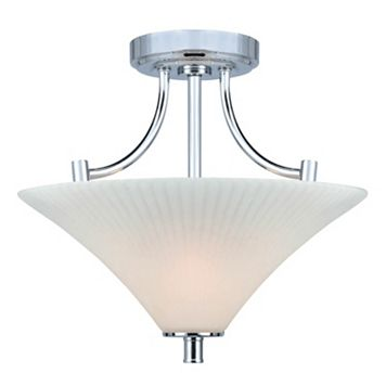 Lite Source Inc. Ragnar Semi-Flush Mount Ceiling Light
