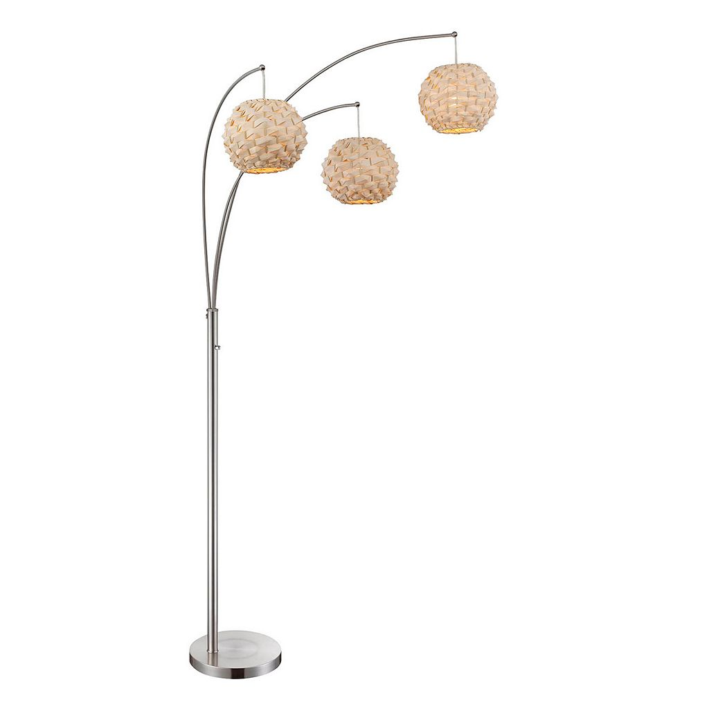 Lite Source Inc. Linterna Arch Floor Lamp