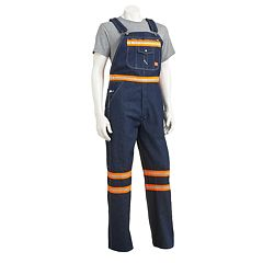 Men's Dickies Enhanced Visibility Bib Overalls
