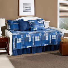 Eddie Bauer Eastmont 5 pc Reversible Daybed Quilt Set