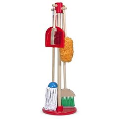 Melissa & Doug Let's Play House! Dust, Sweep & Mop Set