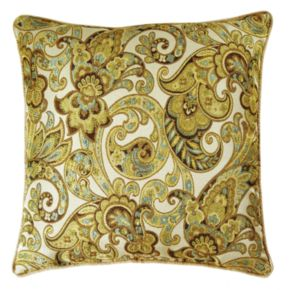 M. Kennedy Home Grand Paisley Decorative Pillow