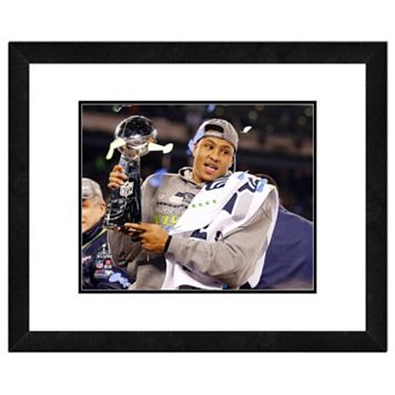 Seattle Seahawks Malcom Smith Super Bowl XLVIII Framed 11