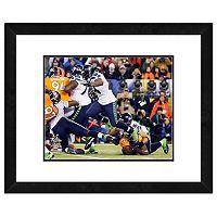 Seattle Seahawks Marshawn Lynch Super Bowl XLVIII Framed 11