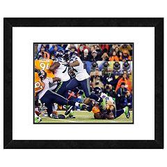 Seattle Seahawks Marshawn Lynch Super Bowl XLVIII Framed 11' x 14' Player Photo