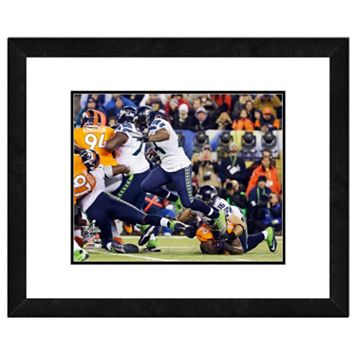 Seattle Seahawks Marshawn Lynch Super Bowl XLVIII Framed 11
