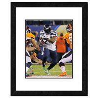 Seattle Seahawks Marshawn Lynch Super Bowl XLVIII Framed 14