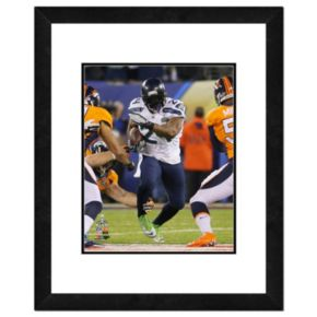 "Seattle Seahawks Marshawn Lynch Super Bowl XLVIII Framed 14"" x 11"" Player Photo"
