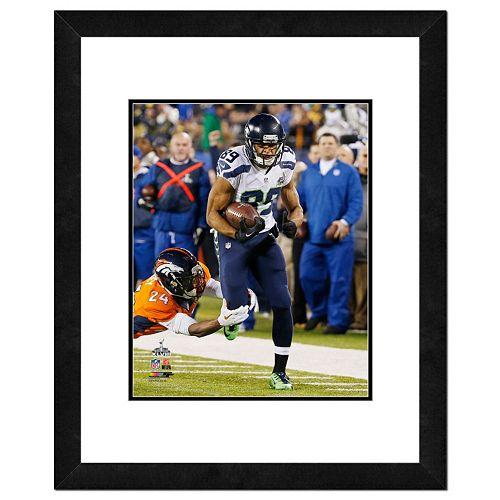Seattle Seahawks Doug Baldwin Super Bowl XLVIII Framed 14