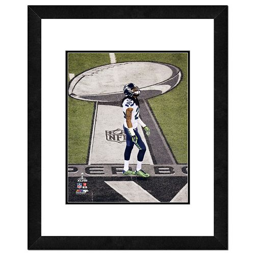Seattle Seahawks Richard Sherman Super Bowl XLVIII Framed 14