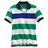 Boys 8-20 Chaps Striped Pique Polo