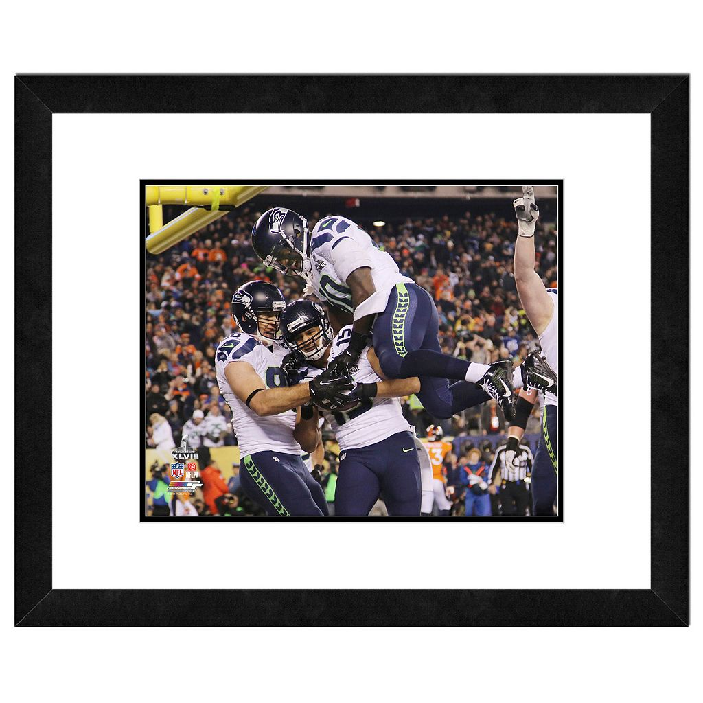 Seattle Seahawks Jermaine Kearse Super Bowl XLVIII Framed 11