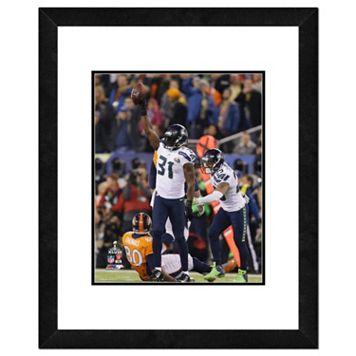 Seattle Seahawks Kam Chancellor Super Bowl XLVIII Framed 14