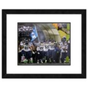"Seattle Seahawks Super Bowl XLVIII Run Onto the Field Framed 11"" x 14"" Photo"
