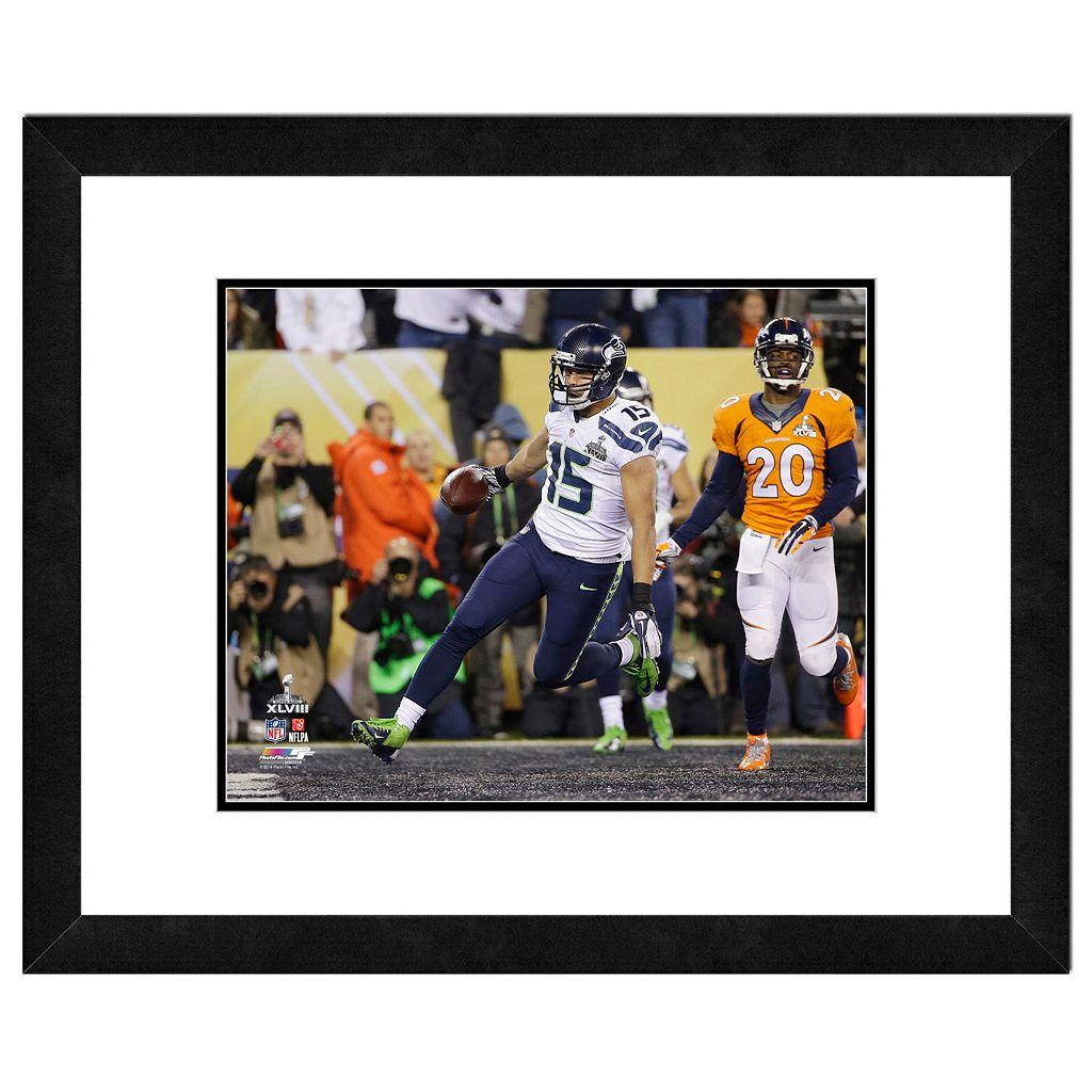 Seattle Seahawks Jermaine Kearse Super Bowl XLVIII Framed 11