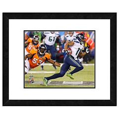 Seattle Seahawks Percy Harvin Super Bowl XLVIII Framed 11' x 14' Player Photo