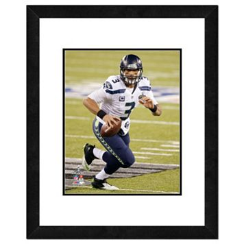 Seattle Seahawks Russell Wilson Super Bowl XLVIII Framed 14