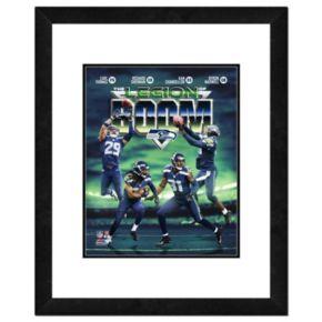 "Seattle Seahawks Legion of Boom Framed 14"" x 11"" Photo"