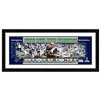 Seattle Seahawks Super Bowl XLVIII Champions Framed 12