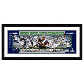 Seattle Seahawks Super Bowl XLVIII Champions Framed 12