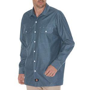 48d4bad5c6a Men s Croft   Barrow® Classic-Fit Denim   Twill Button-Down Shirt