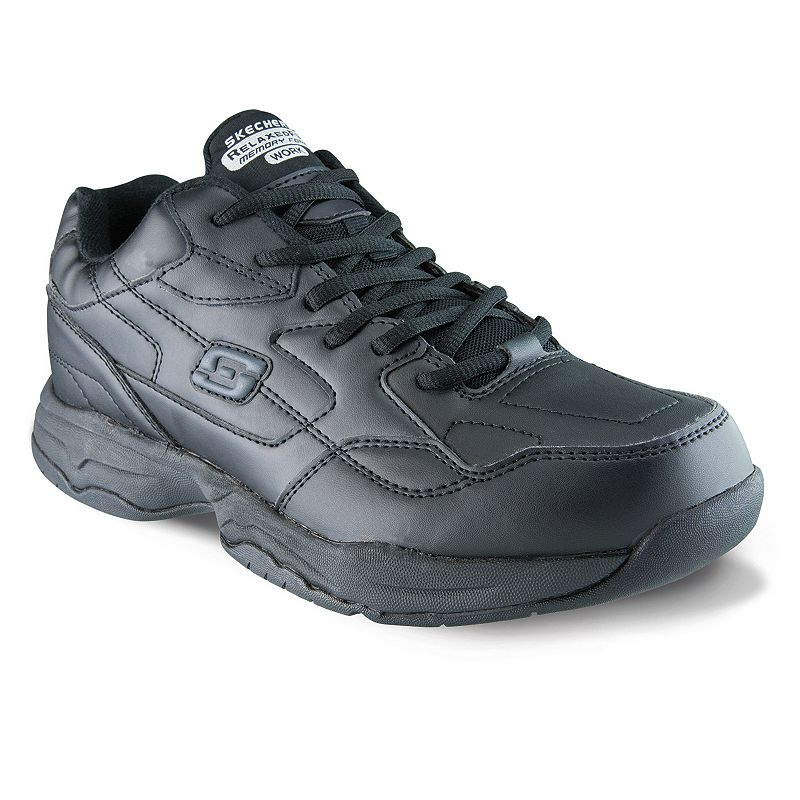 Skechers Relaxed Fit Felton Altair Work Shoes? Men