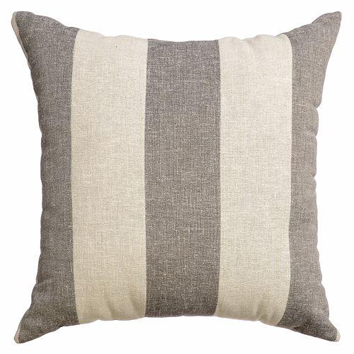Softline Azure Striped Decorative Pillow