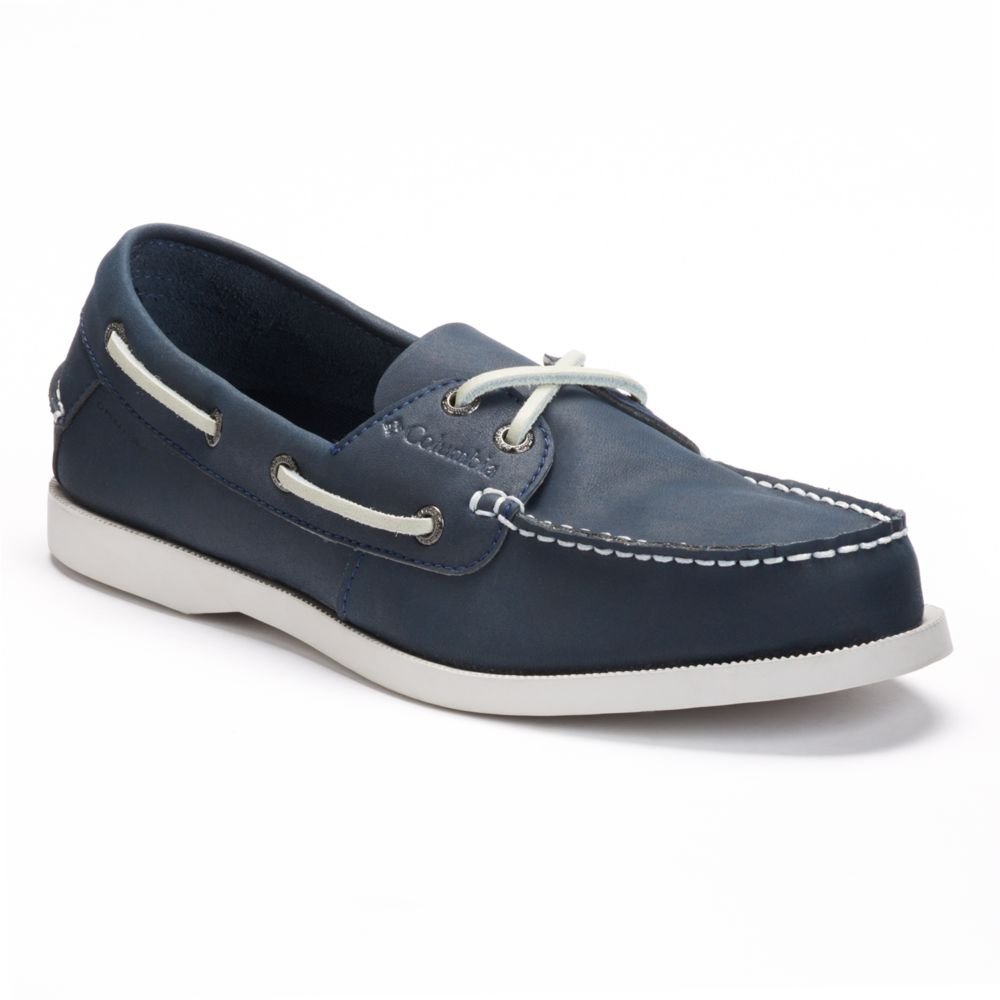 Columbia Perfect Cast Men's ... Rain & Stain Resistant Boat Shoes