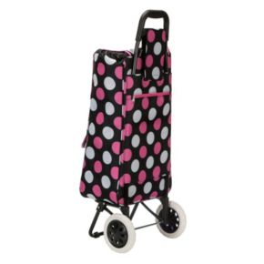 Rockland Wheeled Shopping Cart