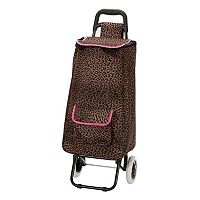 Rockland Wheeled Shopping Cart