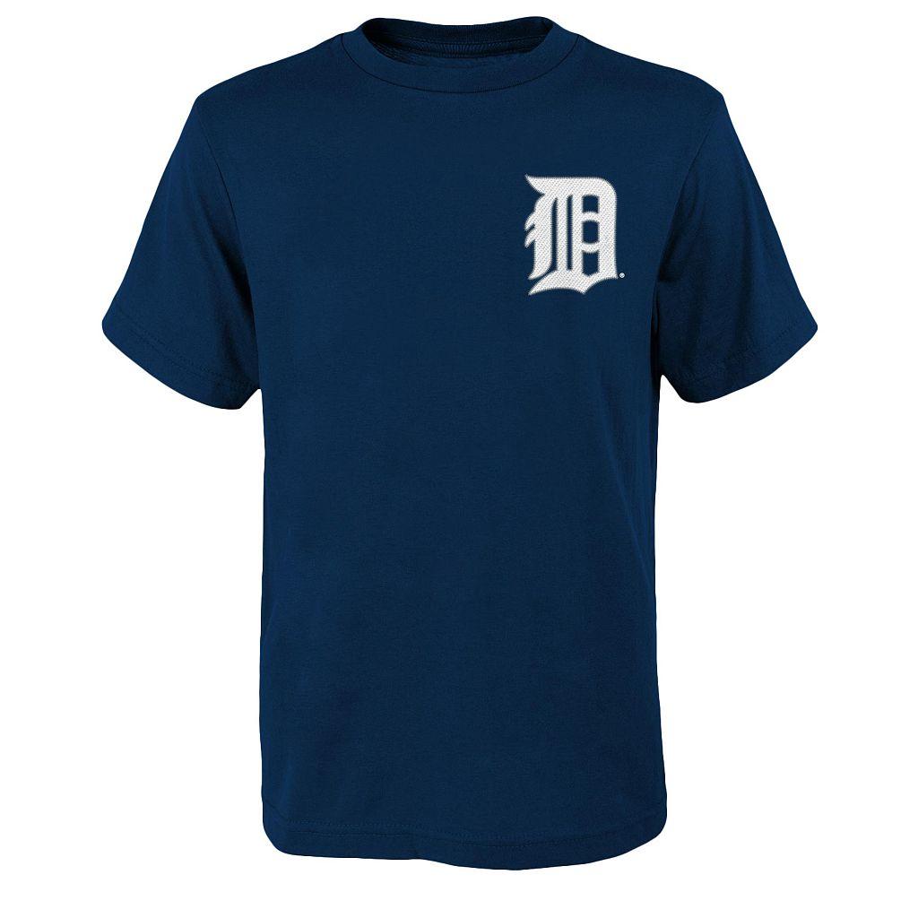 Boys 8-20 Majestic Detroit Tigers Ian Kinsler Tee