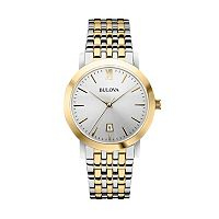 Bulova Men's Two Tone Stainless Steel Watch - 98B221