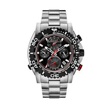 Bulova Men's Precisionist Stainless Steel Chronograph Watch - 98B212
