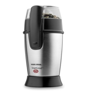 Black and Decker SmartGrind Stainless Steel Coffee Grinder
