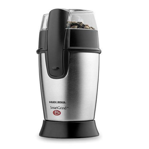 Black & Decker SmartGrind Stainless Steel Coffee Grinder