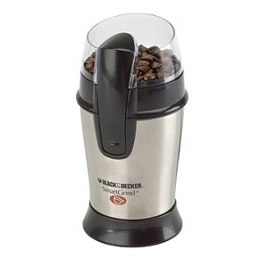 Black and Decker SmartGrind Stainless Steel Coffee Grinder