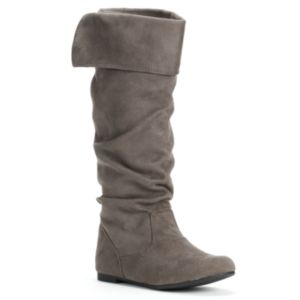 SO Women's Ruched Boots