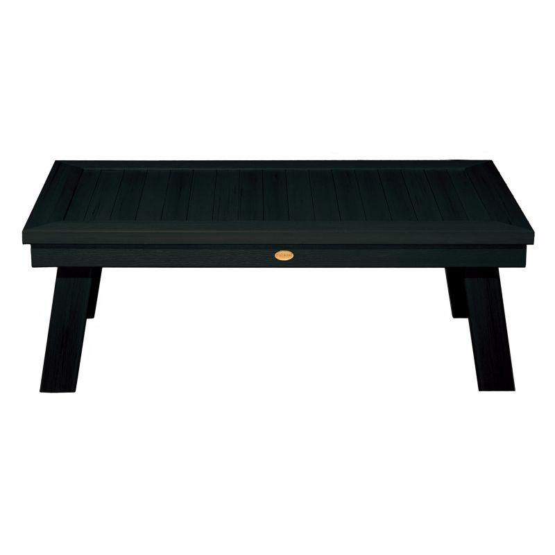 Highwood Pocono Deep Seating Conversation Table in Charleston Green